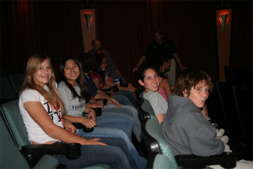"Local Swimmers at ""Pride"" Screening - Austin, TX"